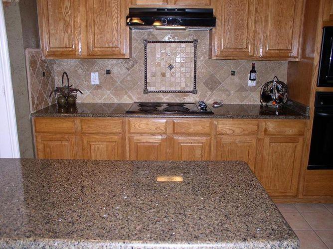 Brown Granite Countertops | Tropic Brown Granite Countertops (235), Tropic  Brown, Dallas