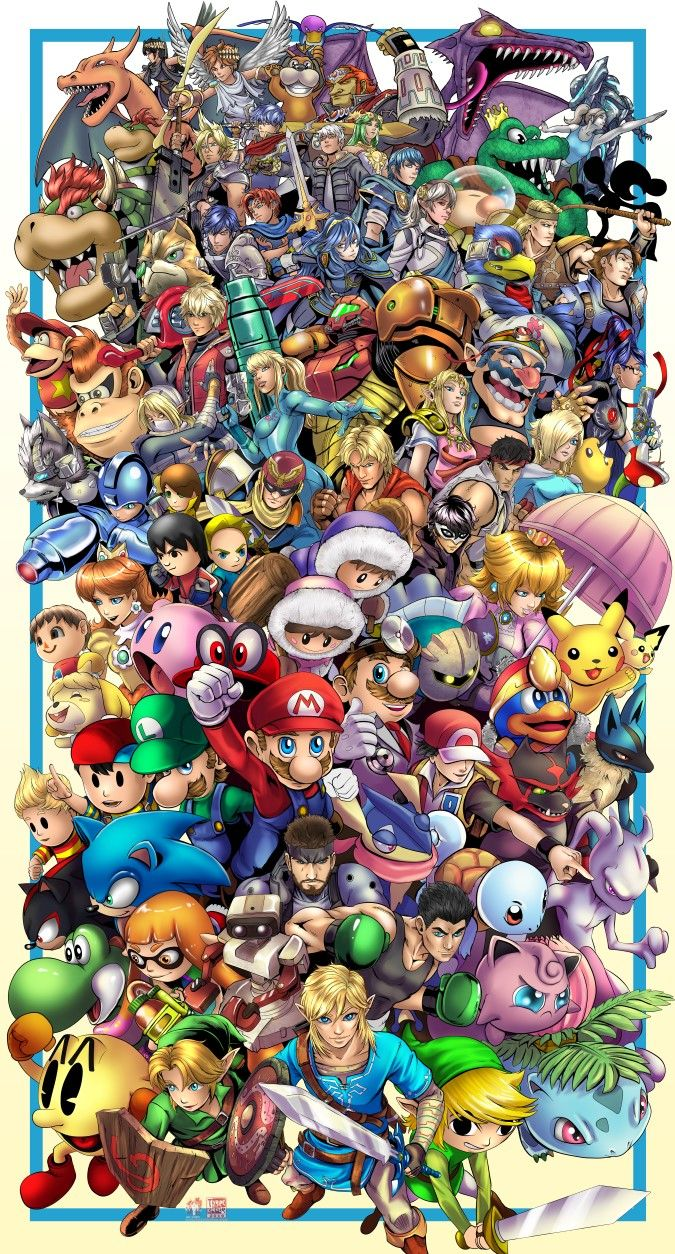 Super Smash Brothers Ultimate by TyrineCarver on DeviantArt