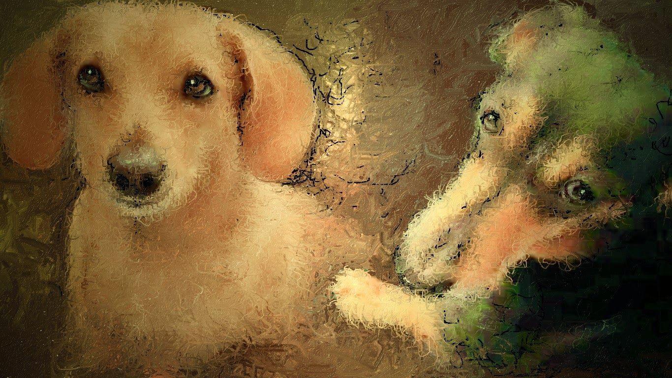 PCペイントで絵を描きました! Art picture by Seizi.N:   お友達のワンちゃんをお絵描きしました。  ART PICTURE のだせいじの風景画 Ⅵ僕の描いた絵を良かったら見てください。  http://youtu.be/4l1T-lZrjZ4