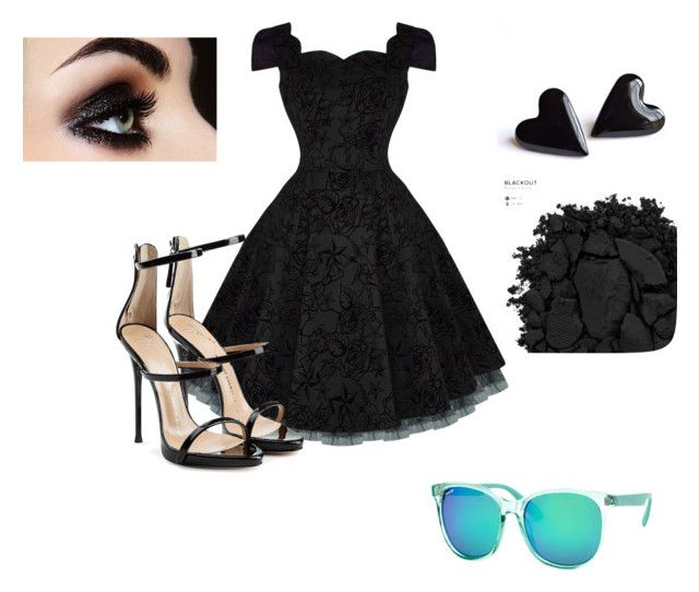 """Untitled #52"" by funzeez1 ❤ liked on Polyvore featuring Giuseppe Zanotti, Urban Decay and Polar"