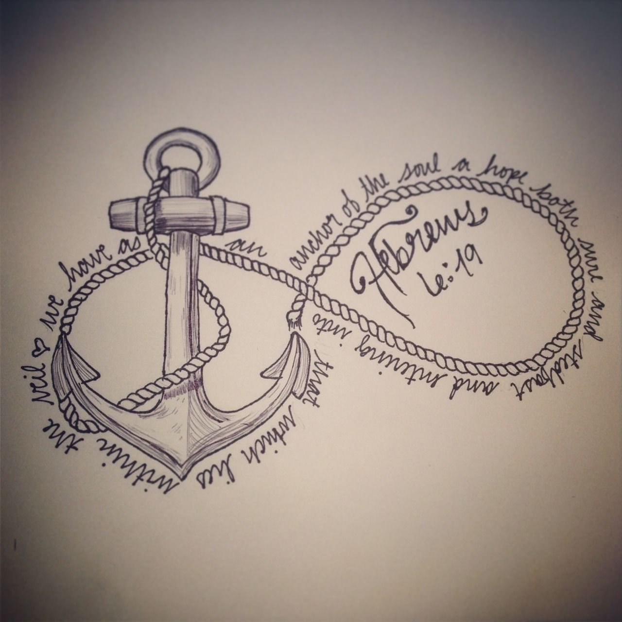 b48a55569b7f0 Anchored in Christ Infinity Drawings, Infinity Tattoo Designs, Infinity  Symbol Tattoos, Anchor Tattoo