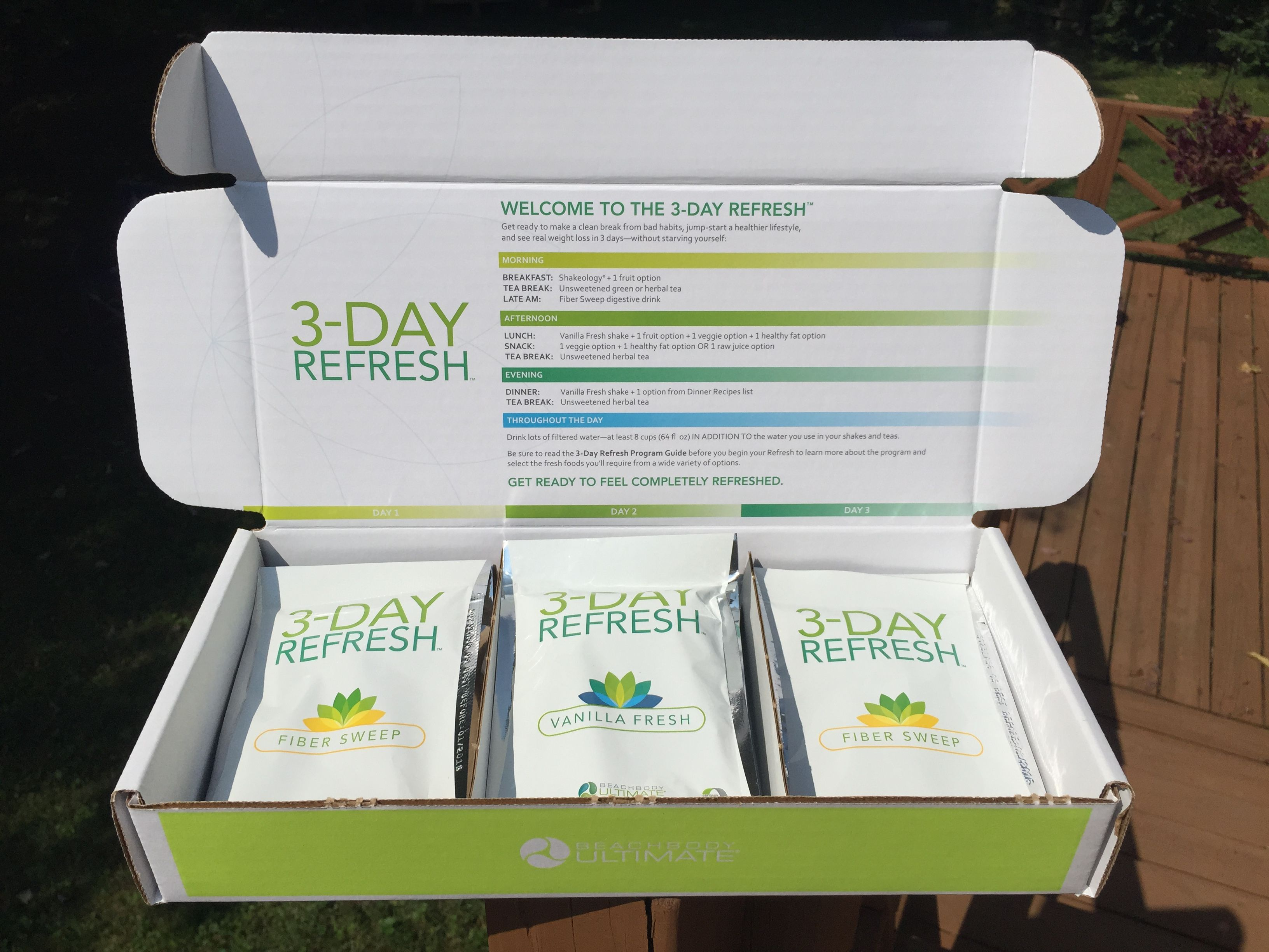 1 Week Until I Start The 3 Day Refresh Total Body Cleanse