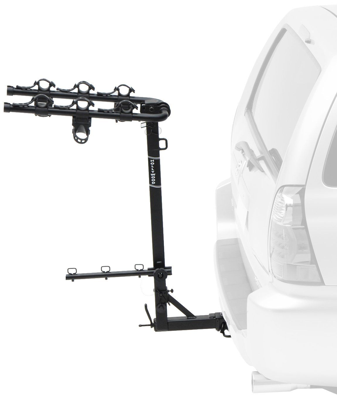 Hollywood Racks Hr310 Road Runner 3 Bike Hitch Mount Rack 1 25 Inch 2 Inch Receiver Carries Up To 3 Bikes And Fits 1 25 Bike Hitch Bike 4 Bike Hitch Rack