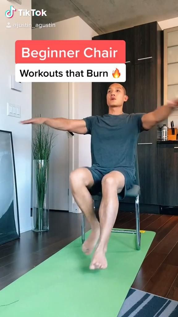 Cardio Chair Workout For Beginners