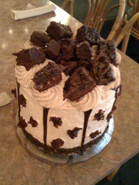 Rosine's Chocolate Brownie Cake!