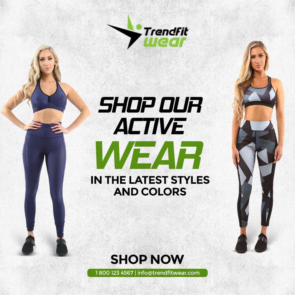 #TrendFitwear #Gymwear #ActiveWear #Fitness #Clothing #Sportswear #Athleisure #Trainers #Apparel #Wo...