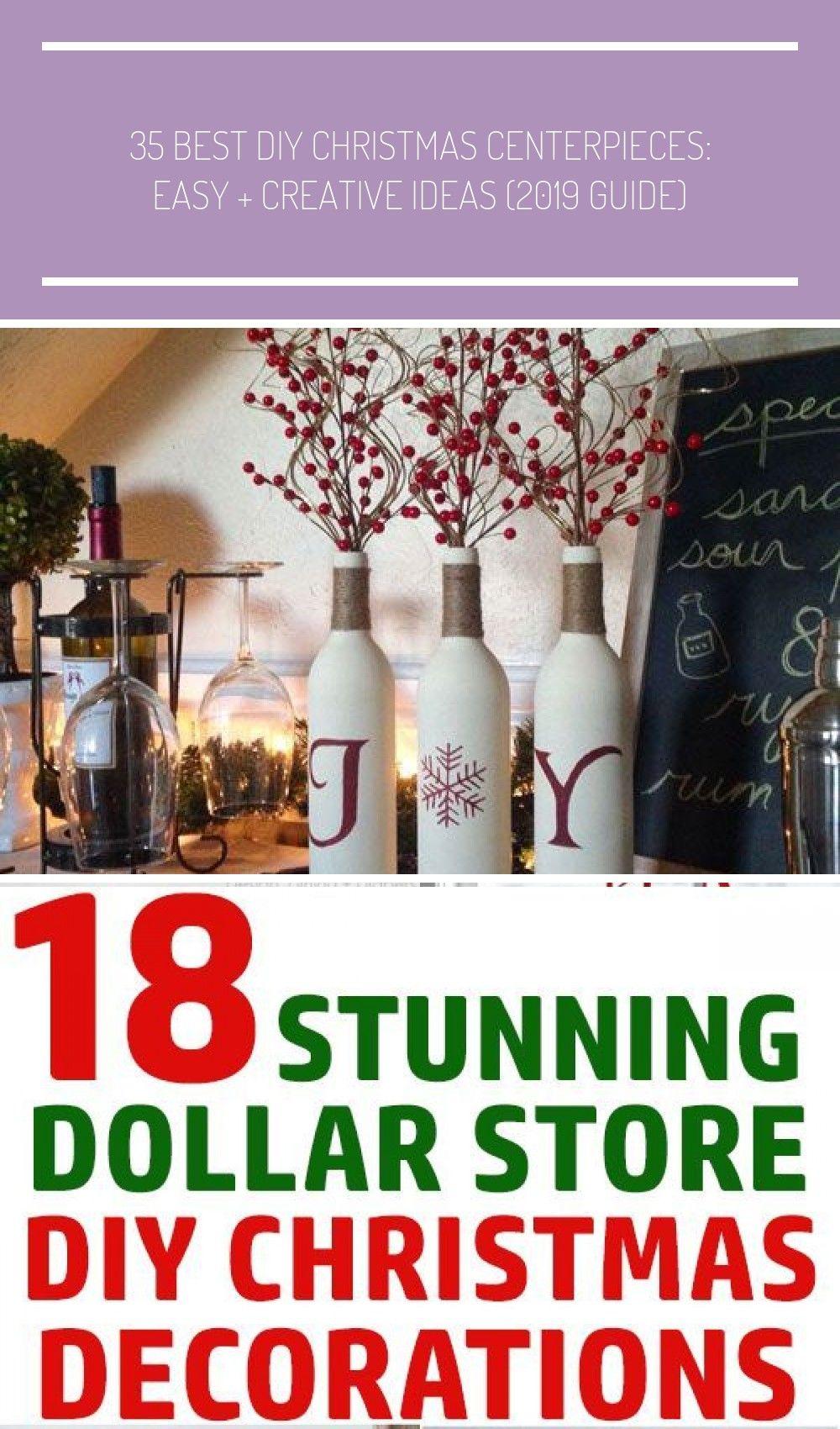 Inexpensive Christmas Centerpiece Ideas - Christmas Decorations, Christmas Centerpieces, DIY Christ