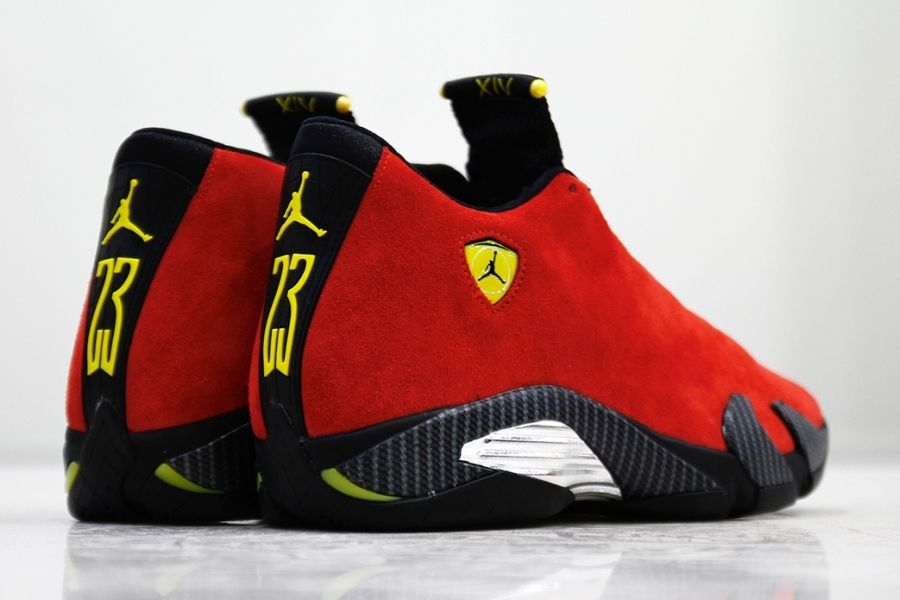 Bringing The Ferrari To Life With The Air Jordan 14 - SneakerNews ...