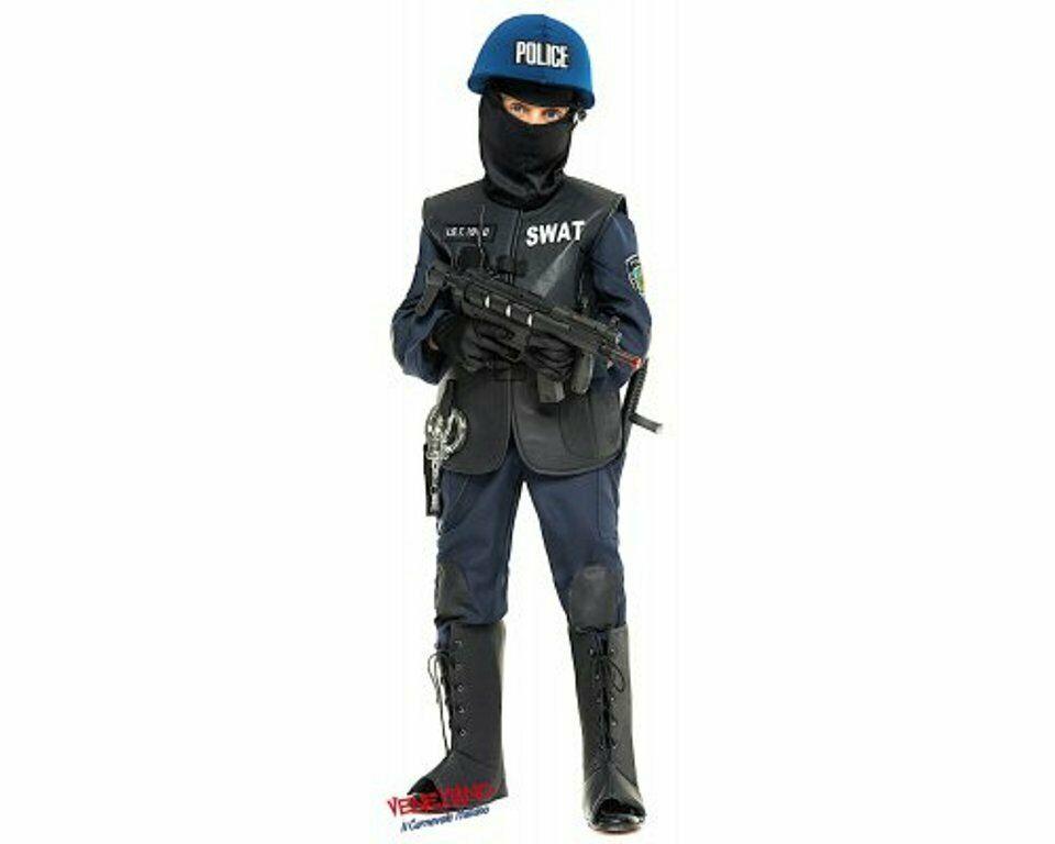 allacciarsi dentro godere del prezzo di liquidazione comprare nuovo Costume di Carnevale da SWAT Baby Vestito Bambino Ragazzo ...