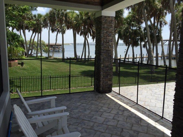 Pool Fences New Smyrna - Baby Barrier Pool Safety Fence installs superior pool fence throughout New Smyrna Beach Florida! #PoolSafetyFence #PoolSafety #BabyBarrier