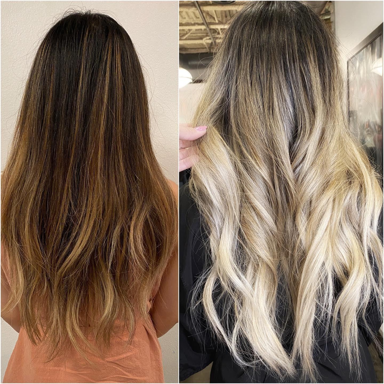 Blonde Balayage On Asian Hair Lucyblackstudio Balayage Asian Hair Balayage Blonde Balayage