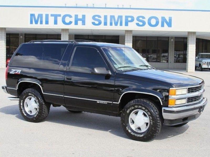 1997 Chevy Tahoe 2 Door Gmc Trucks Chevrolet Trucks Gmc