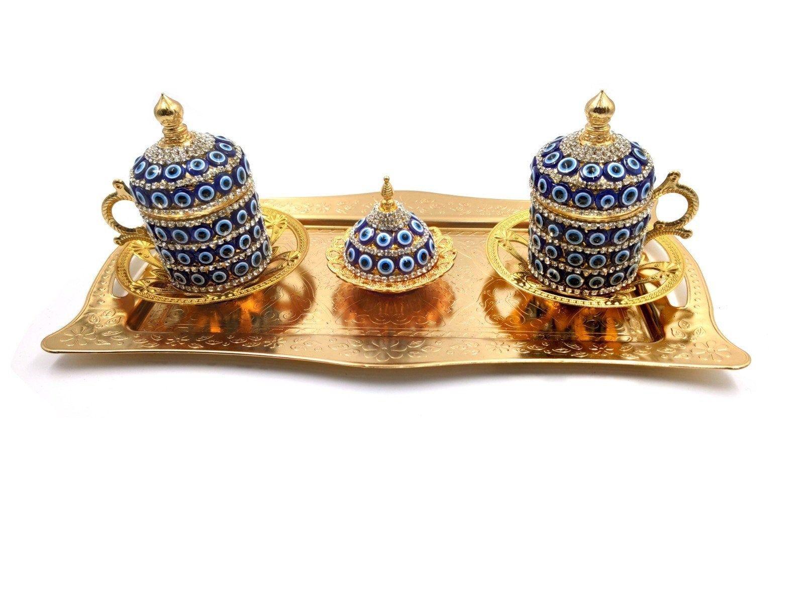 Cups set arabic tea coffee cup set 2 original design