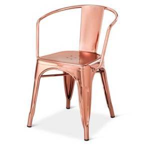Carlisle Low Back Metal Dining Chair Target Home Metal
