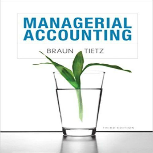 solutions manual for managerial accounting 3rd edition by karen w rh pinterest com Managerial Accounting Final Exam Cheat Sheet Accounting and Finance
