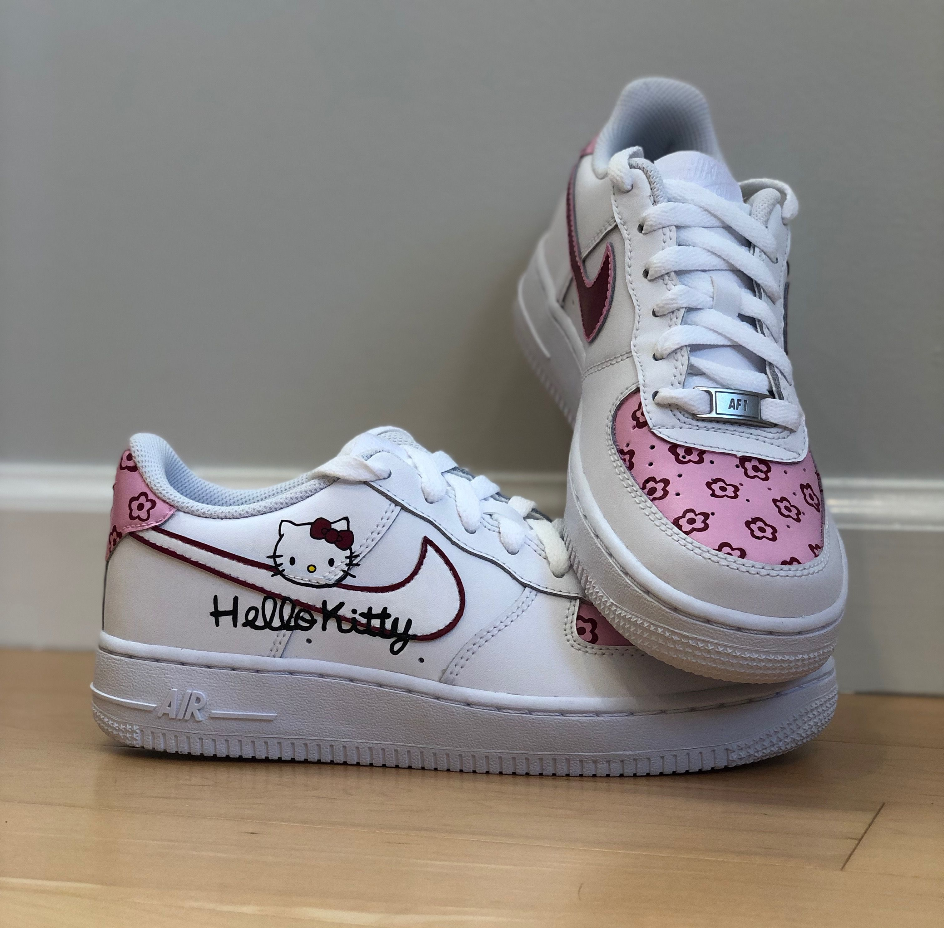Personalized Hello Kitty Inspired Nike