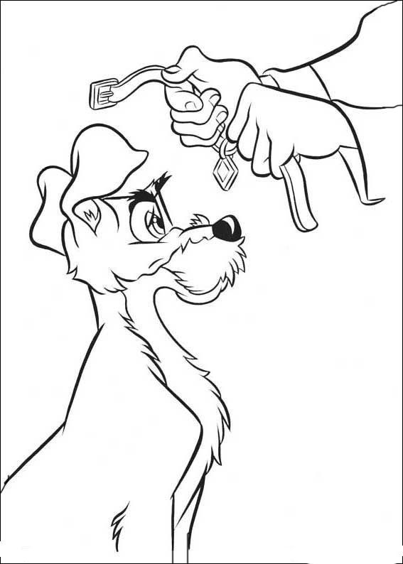 Susi Und Strolch Ausmalbilder 13 Coloring Pages Lady The Tramp