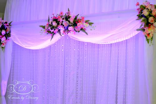 Crystal Wedding Backdrop Google Search