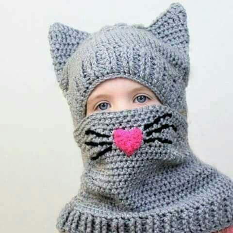 Pin von Enas Fathi auf Crochet hats | Pinterest | Mütze