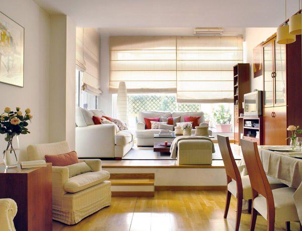 Ambientes una reforma pensada al detalle pequenas for Como decorar interiores de casas pequenas