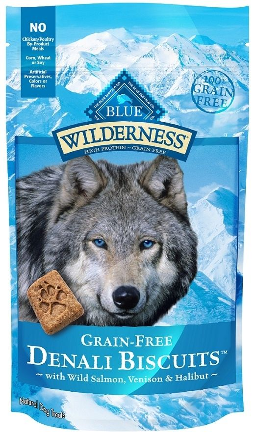 Blue Buffalo Wilderness Grain Free Denali Dinner Biscuits Dog