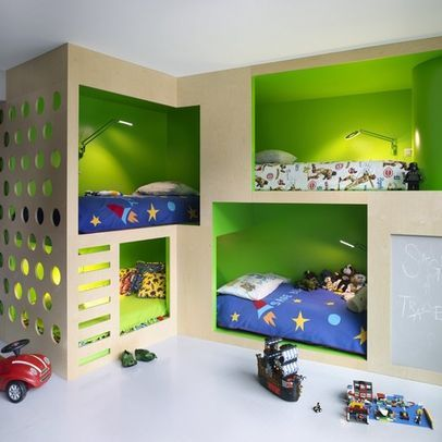 By Incorporated Houzz I Love The Built Ins Makes Me Think Of Marianne For Some Reason Cool Kids Rooms Creative Kids Rooms Kids Bunk Beds Houzz childrens bedroom ideas