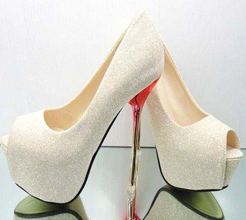 Details about Women Glitter Sandals Block Open Toe Platform