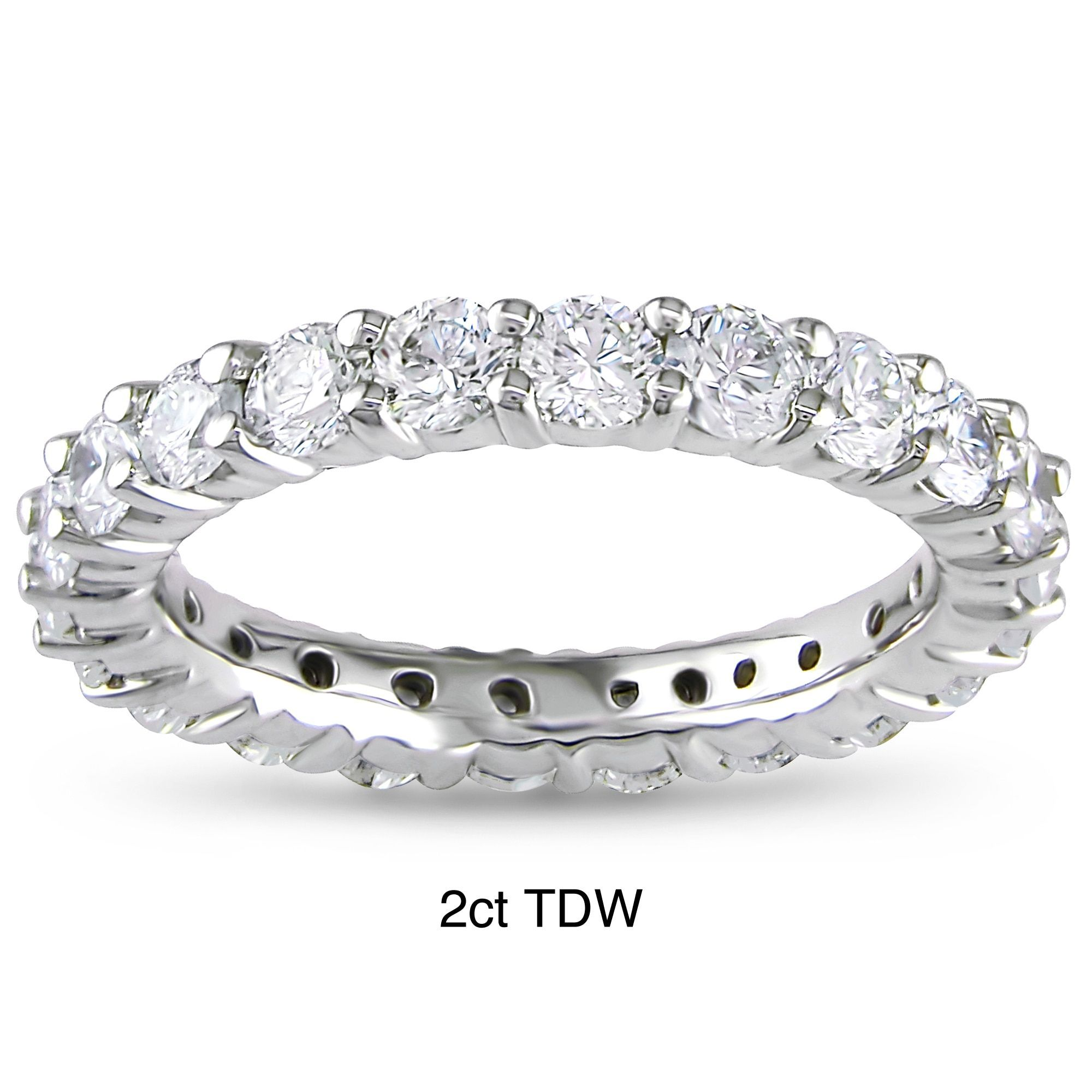 and diamond eternity cut ring overview rings emerald brilliant jewellery