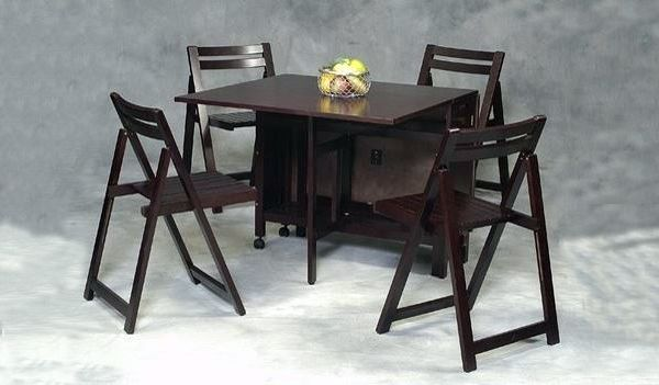 20 Drop Leaf Table With Folding Chairs Home Design Lover Folding Dining Table Kitchen Table Settings Folding Dining Chairs