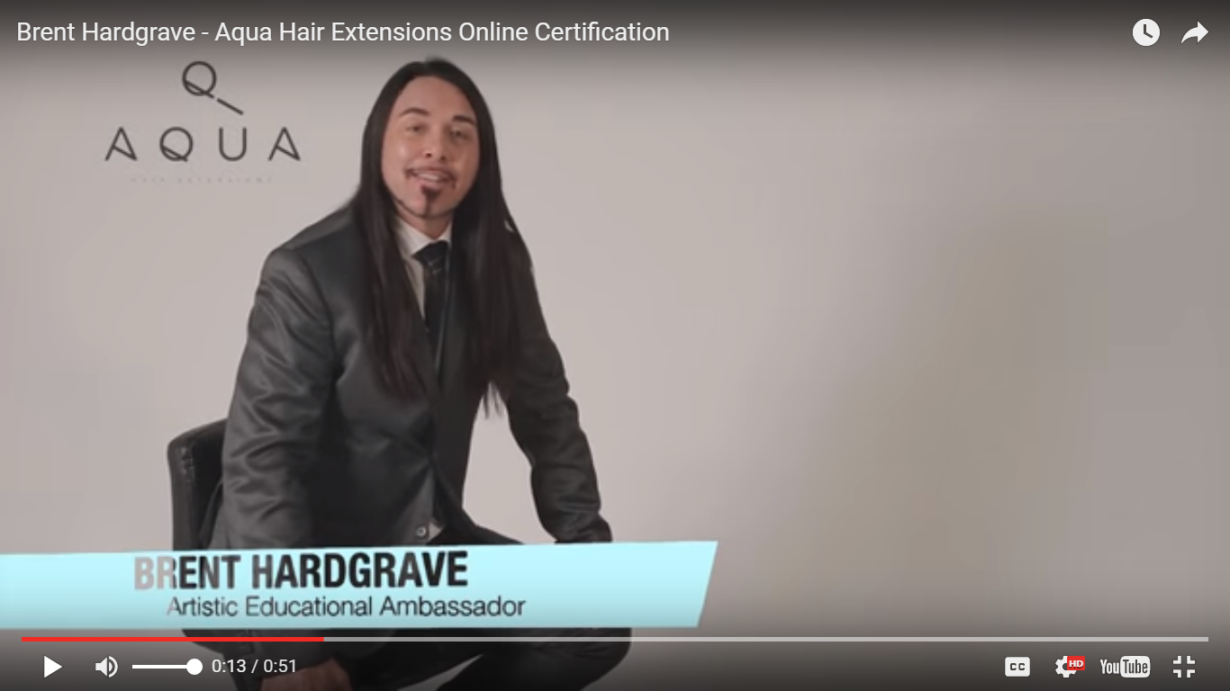 Tape In Online Certification Aqua Hair Extensions Has Launched Their