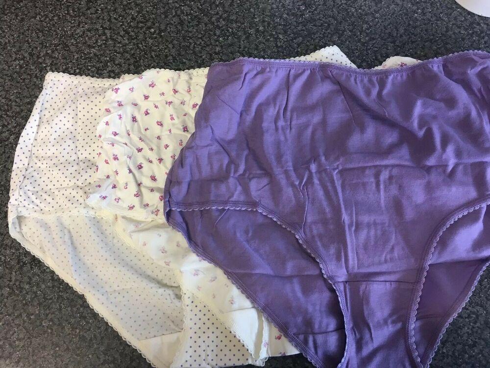 M /& S Ladies 5 Pack Cotton Lycra Bikinis Briefs Knickers Underwear Sz 8 10 16 18