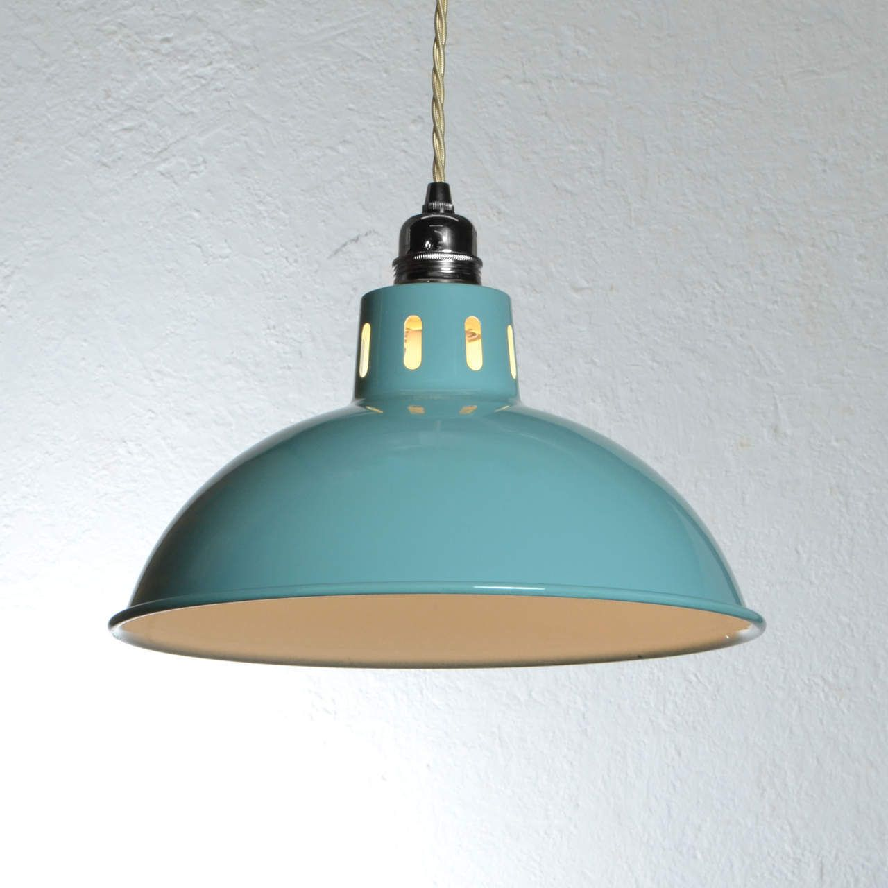 turquoise pendant lighting. Factory Industrial Pendant Light - Turquoise Artifact Lighting P