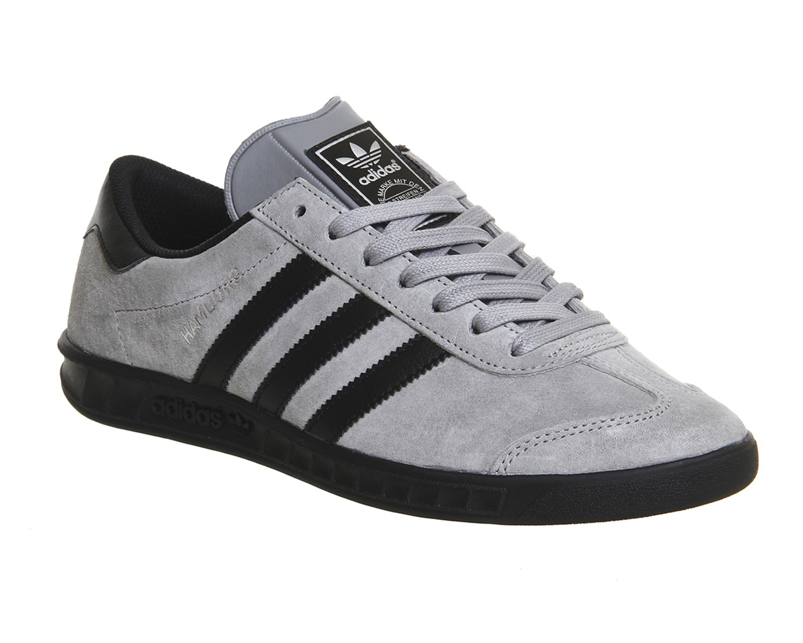 568029993272 Grey and Black Adidas Hamburg reduced to £40