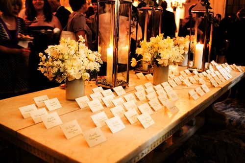 10+ images about Julie - Place Card Tables: Make a Great First ...