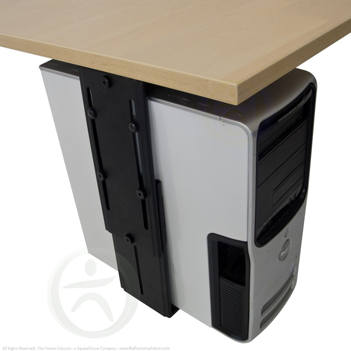 The UpLift CPU Holder is a great addition to any height adjustable desk to ensure your cables aren't stretched and pulled when using your desk's height adjustment capabilities.