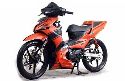 Modifikasi Motor Revo 110 Fit Motor