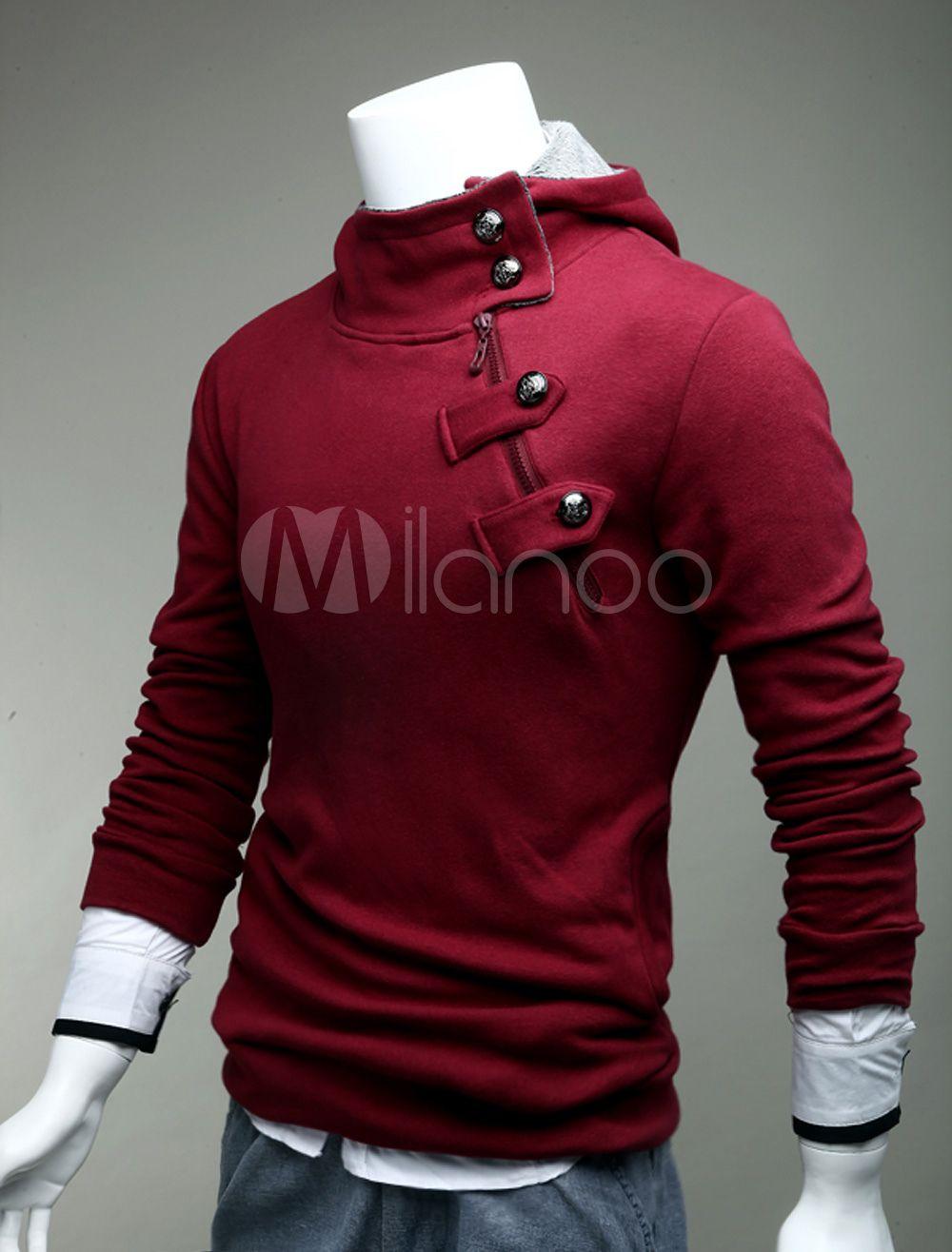 Asymmetrical hoodie with high quality klamotten pinterest