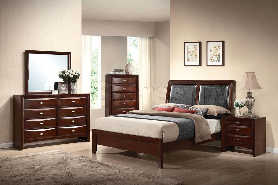 Black Contemporary Bedroom Set Amusing Ireland 5 Pc Contemporary Bedroom Set In Espressoacme Decorating Design