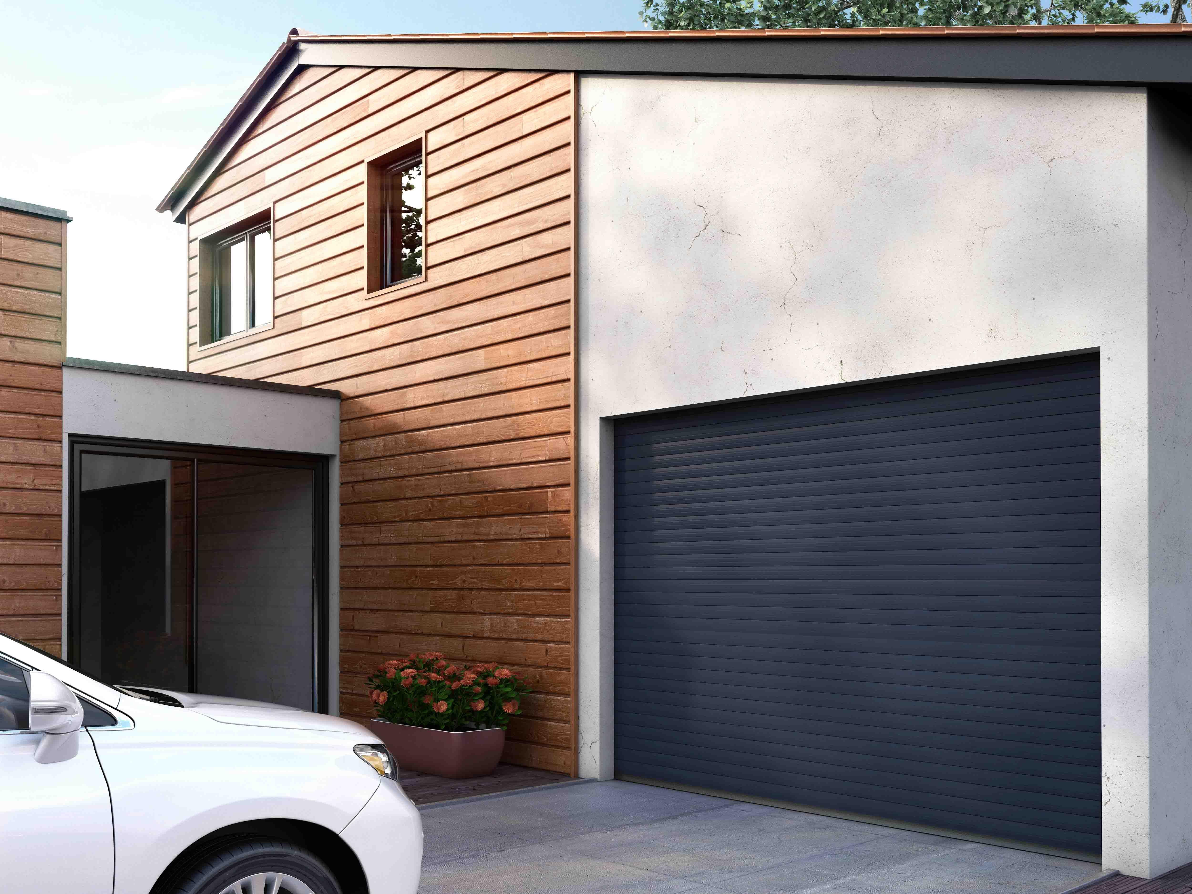 Porte De Garage Enroulable Easydoor C Franciaflex Porte Garage Maison Garage