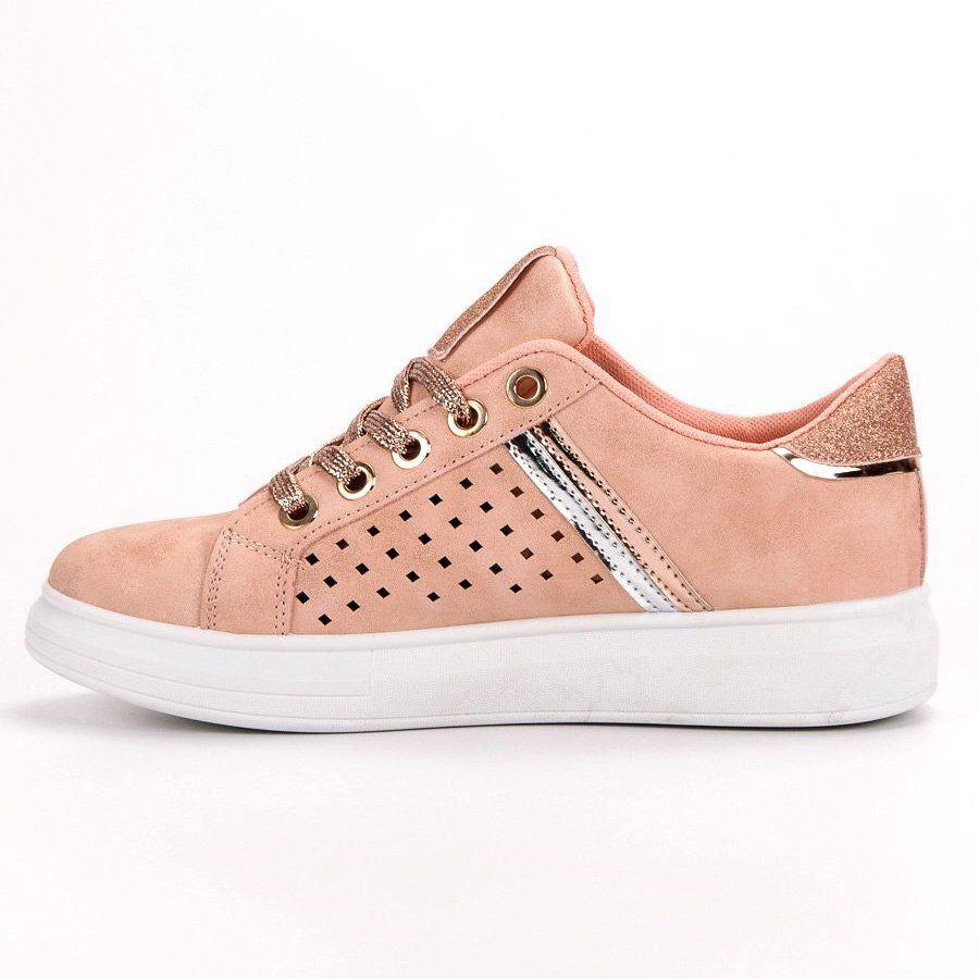 Modne Buty Sportowe Rozowe Sport Shoes Shoes Fashion