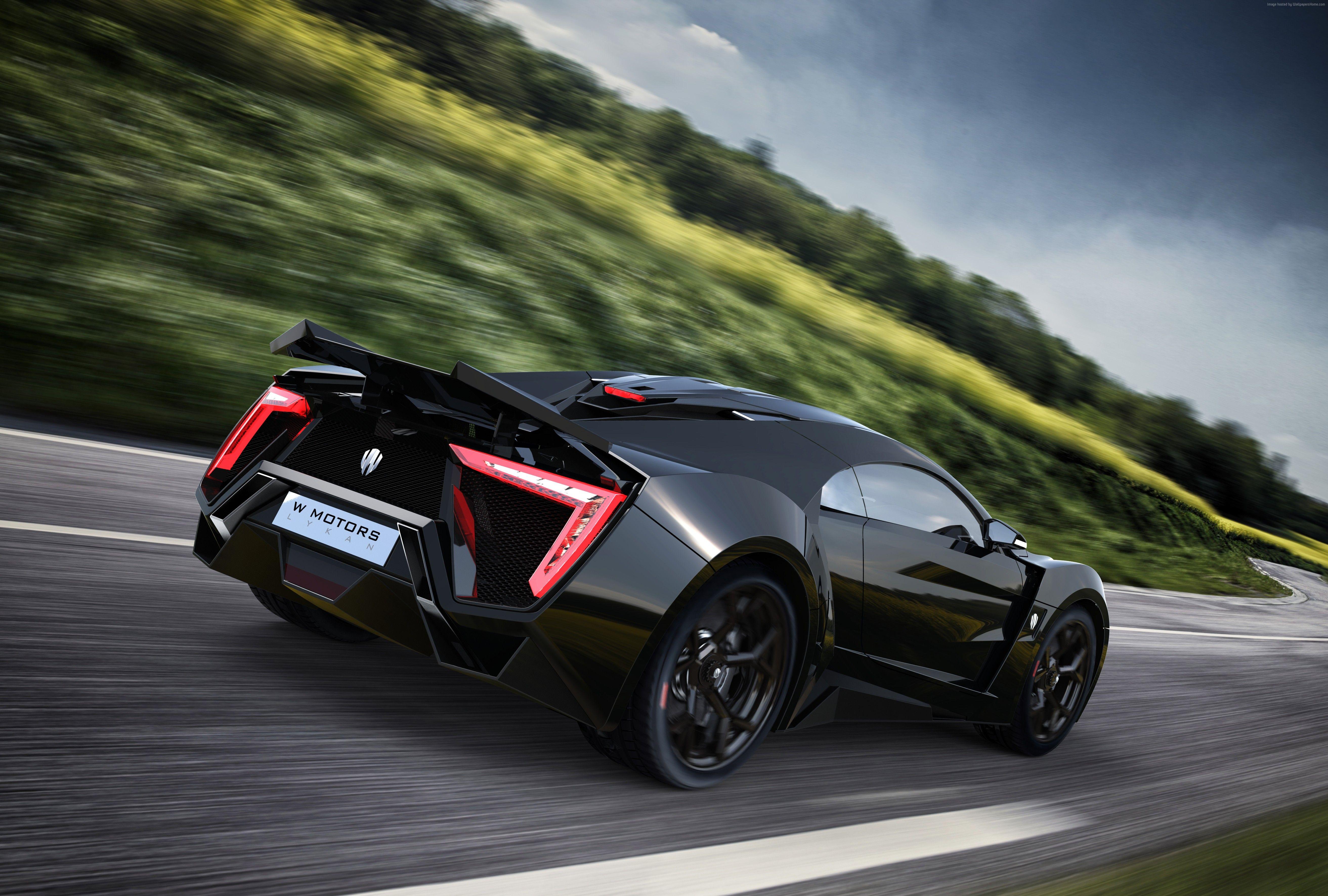 W Motors Black Lykan 4K UHD Wallpaper  WallpaperEVO