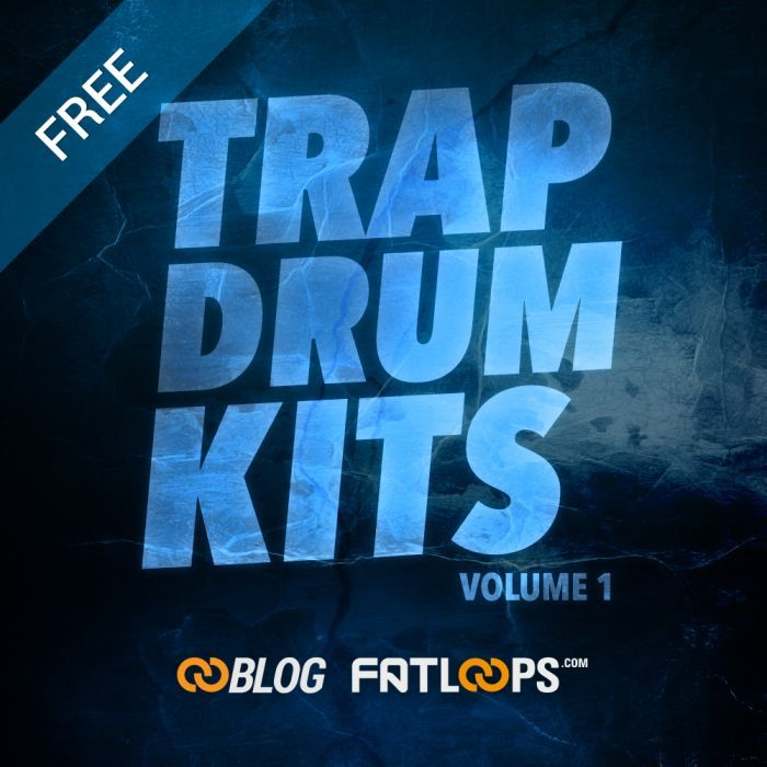 2 Free Trap drum kits composed from 32 samples in 16 bit WAV format