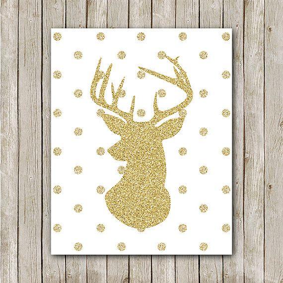 Deer Art Print - Instant Download Printable BUY MORE, SAVE BIG! Buy ...