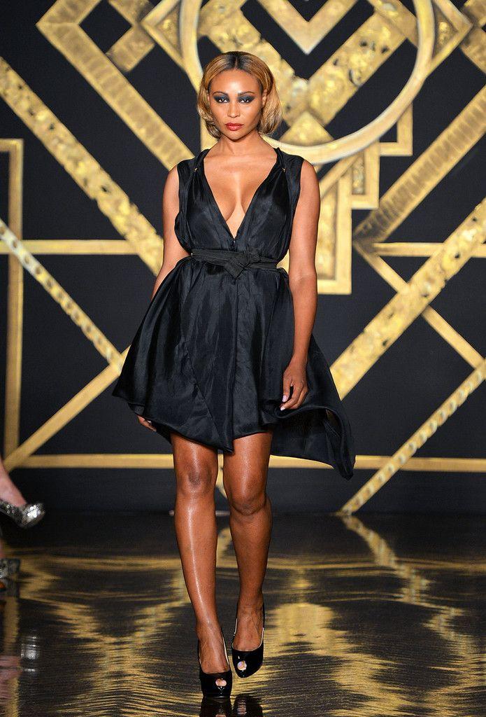 Cynthia Bailey Photostream Fashion Cynthia Bailey Black Short Dress