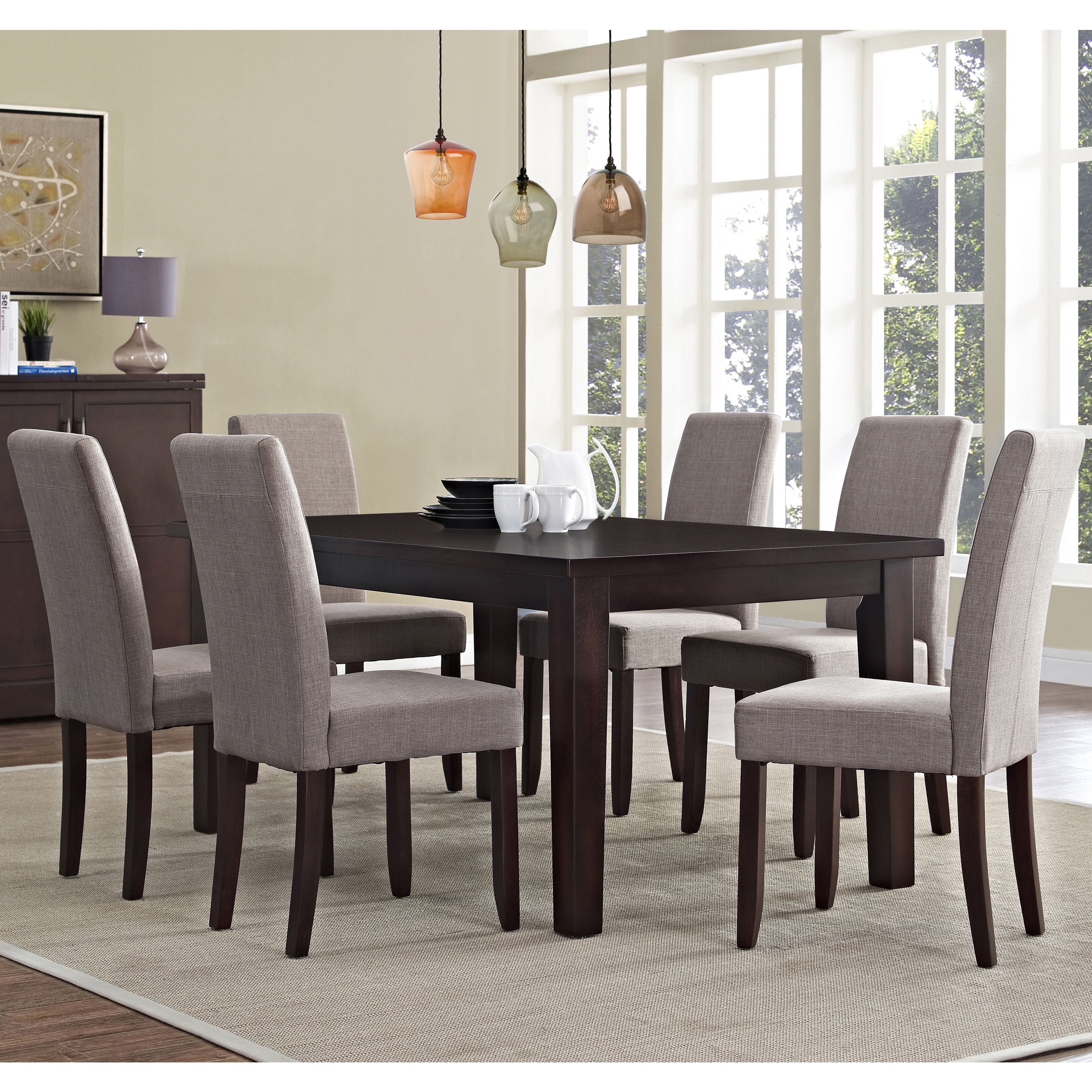 Tremendous Dine In Sophisticated Style With This 7 Piece Wydenhall Squirreltailoven Fun Painted Chair Ideas Images Squirreltailovenorg