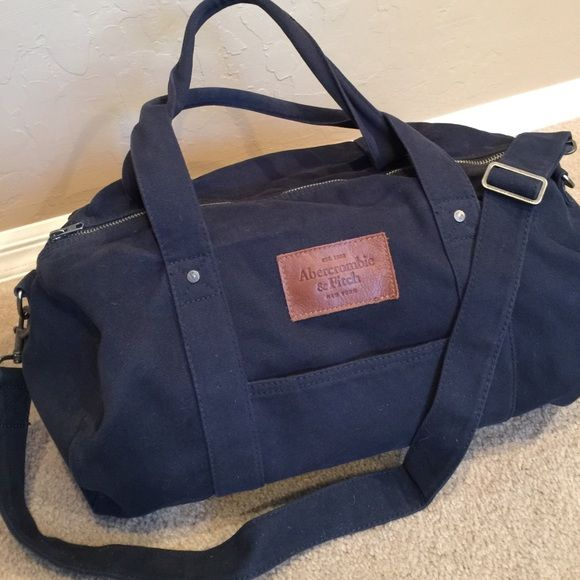 abercrombie fitch bag abercrombie fitch navy colored