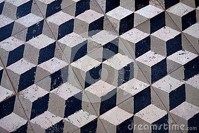 3d Cube Floor Tile Old Tile Floor 3d Cube Flooring