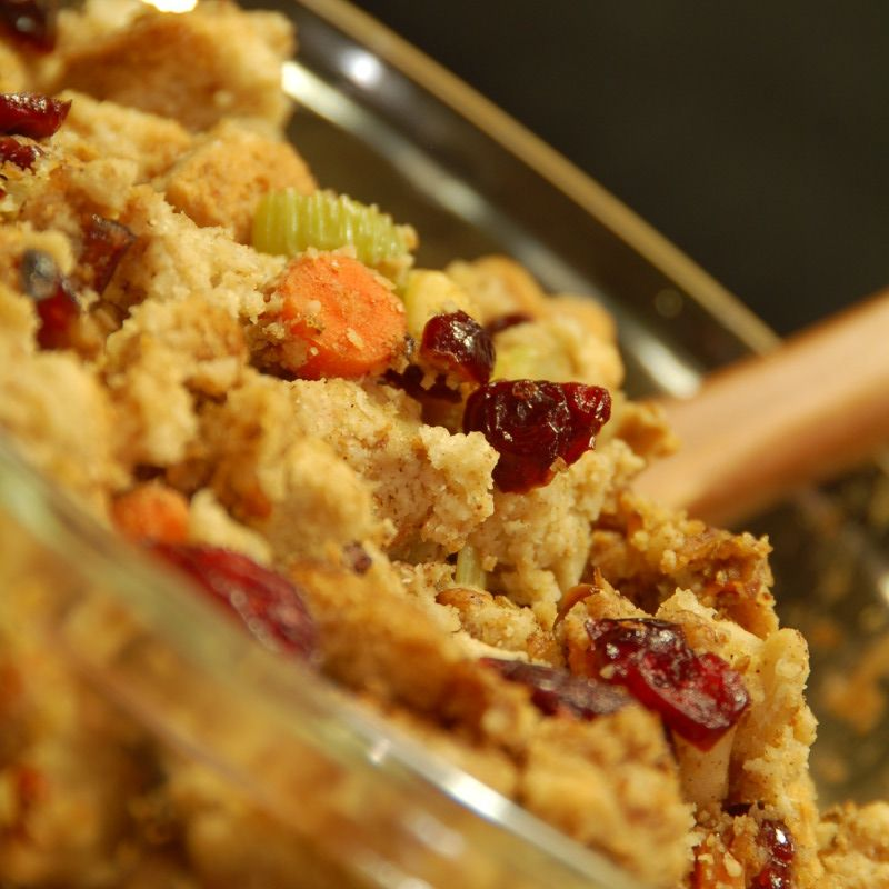 Thanksgiving Stuffing Made With Delicious Homemade Gluten