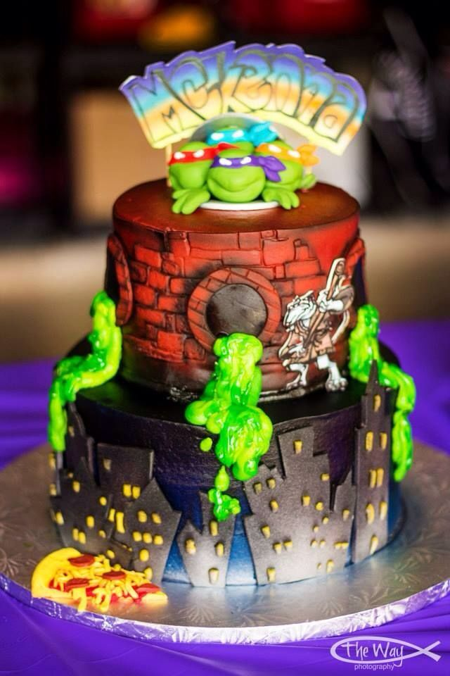 Tmnt Cake Decorations Uk : Tmnt cake - For all your cake decorating supplies, please ...