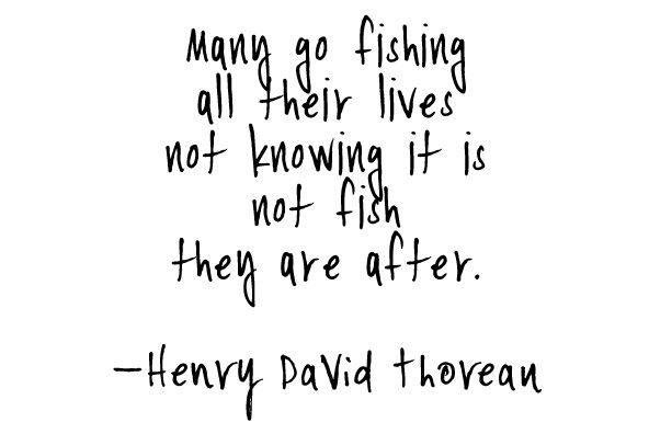 Love Henry David Thereau quotes~